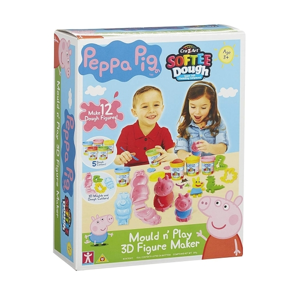 Ex-Display Peppa Pig Dough Mould and Play 3D Figure Maker Used - Like New
