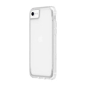 Griffin Survivor Military Grade Clear Case for Apple iPhone SE (2020) / 8/7 / 6S / 6 [Thin Design I Shock Absorbing Corners I Qi Compatible Phone Case] (Transparent) GIP-042-CLR