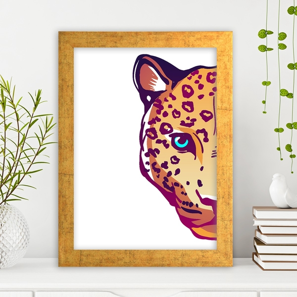 AC3906320654 Multicolor Decorative Framed MDF Painting