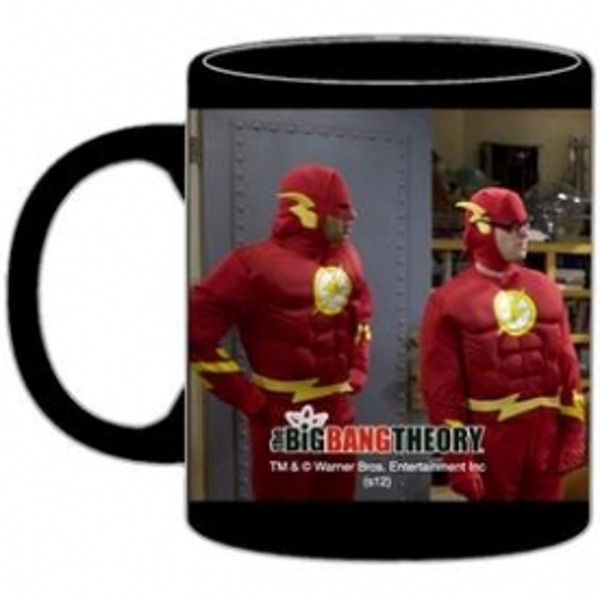 Big Bang Theory Mug Flash Characters - Image 1