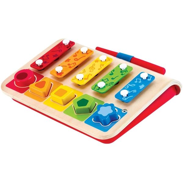 Hape My First Xylophone & Piano Activity Toy