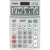 Casio JF120ECO-W ECO Desktop 12 Digit Display Calculator