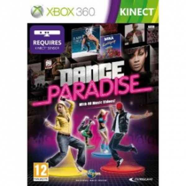Kinect Dance Paradise Game Xbox 360