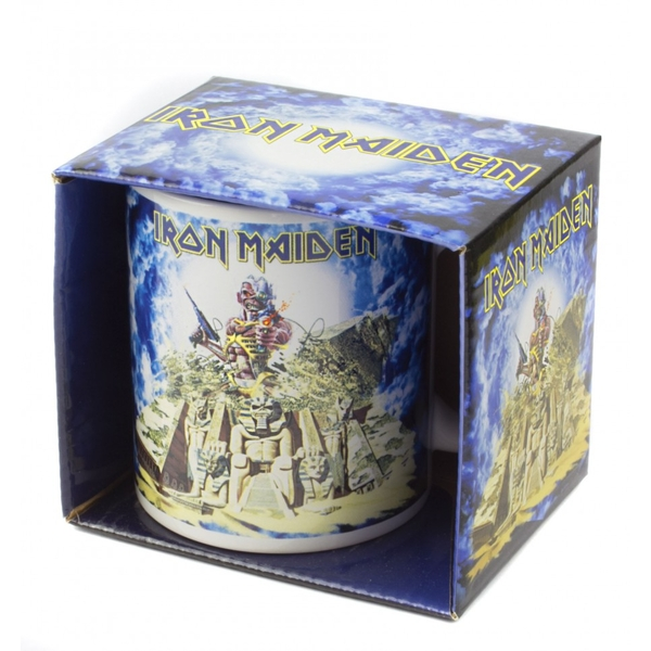 Iron Maiden - Somewhere Back in Time Boxed Standard Mug