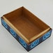 Celtic Triquetra Blue Fire Box Wooden Storage Box - Image 4