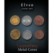 Legendary Metal Coins - Elven Coin Set