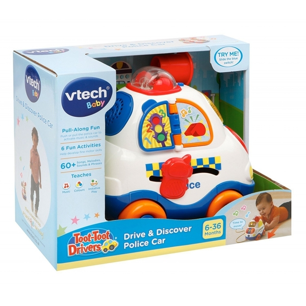 VTech Toot-Toot Driver and Discover Police Car Toy