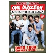 One Direction 1D Mega Sticker Book