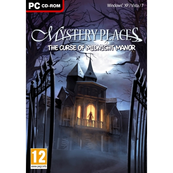 Mystery Places the Curse of Midnight Manor Game PC