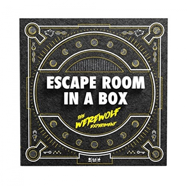 Ex-Display Escape Room In A Box - The Werewolf Experiment Board Game Used - Like New
