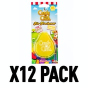 Sweet Vanilla (Pack Of 12) 3D Gel Candy Crush Air Freshener