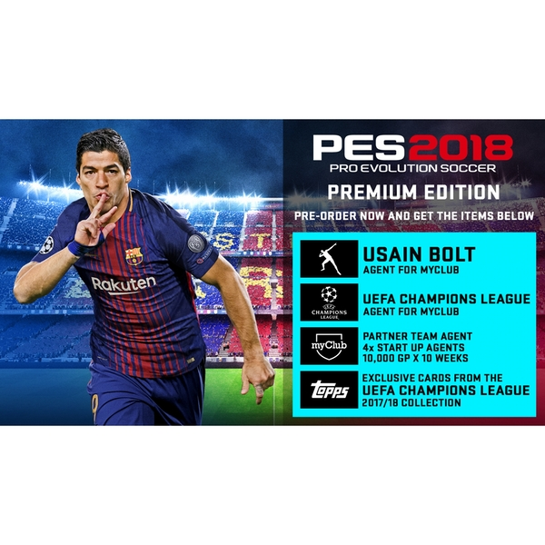 Pro Evolution Soccer 2018 Premium Edition Xbox 360 Game - Image 2