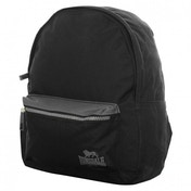 Lonsdale Mini Backpack Black & Charcoal