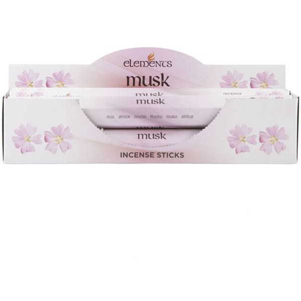 6 Packs of Elements Musk Incense Sticks