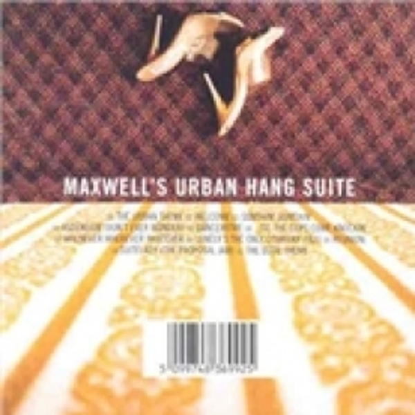 Maxwell Maxwell's Urban Hang Suite CD