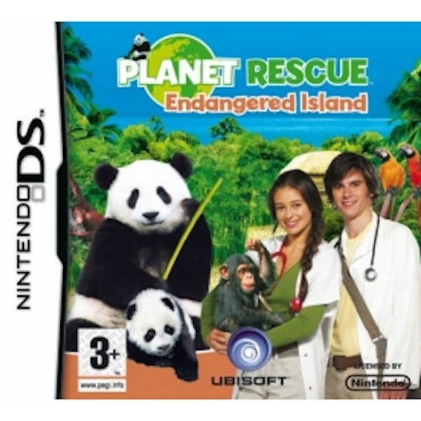 Petz Planet Rescue Endangered Island Game DS