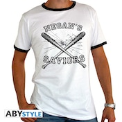 The Walking Dead - Negan's Saviors Men's Large T-Shirt - White