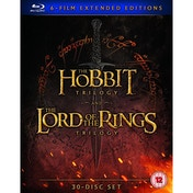 Middle Earth - Six Film Collection Extended Edition Blu-Ray