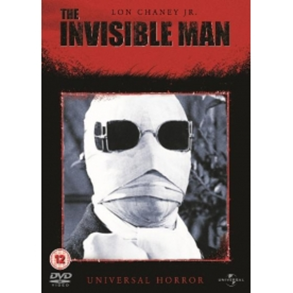 Invisible Man DVD