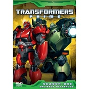 Transformers Prime - Unlikely Alliances - Series 1 Volume 4 DVD