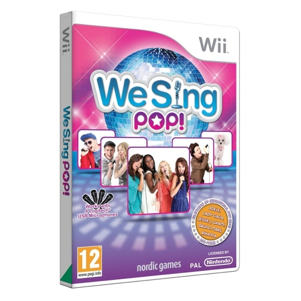 We Sing Pop Solus Game Wii