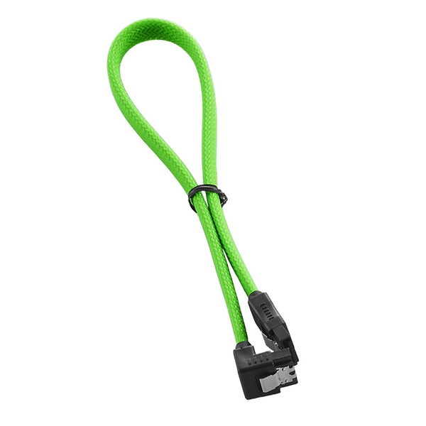 CableMod ModMesh Right Angle SATA 3 Cable 30cm - Light Green