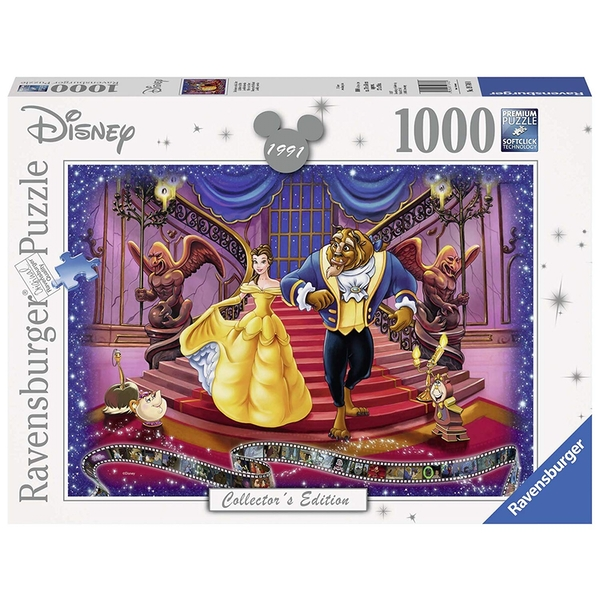 Ravensburger Disney Collector's Edition Beauty & The Beast 1000 Piece Jigsaw Puzzle - Image 1