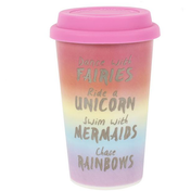Rainbow Metallic Thermal Travel Mug