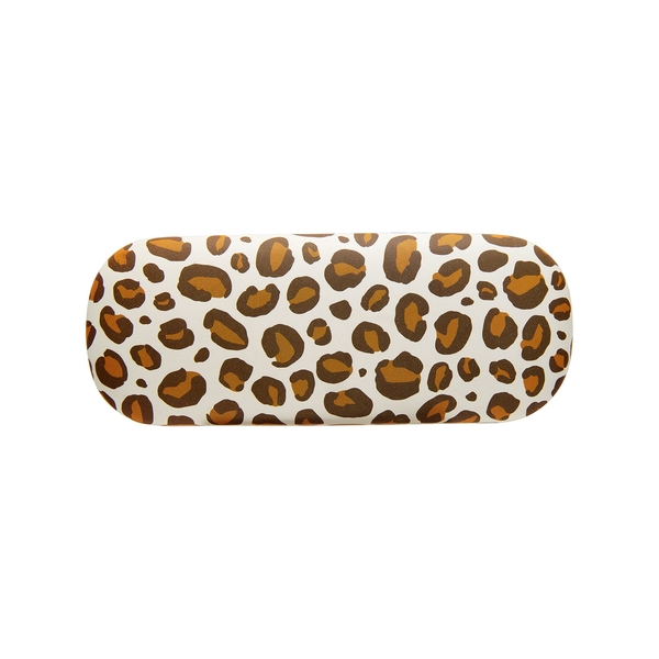 Sass & Belle Leopard Print Glasses Case