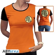 Dragon Ball - Kame Symbol Women's Small T-Shirt - Orange