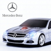 Mercedes SL550 Wireless Mouse - Silver