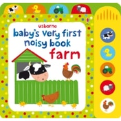 Baby's Very First Noisy Book Farm by Fiona Watt, Stella Baggott (Board book, 2013)