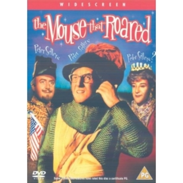 The Mouse That Roared DVD
