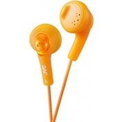 JVC Gumy Bass Boost Stereo Headphones (Valencia Orange)
