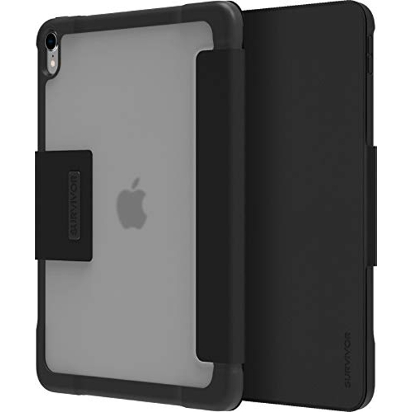 Griffin Survivor Tactical Protective Case with Flap for Tablet 11 Inches for Apple 11-Inch iPad Pro (1st Generation) Black