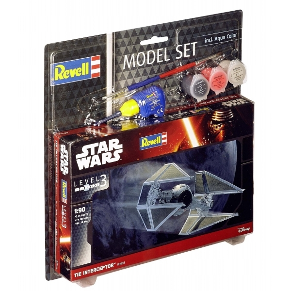 TIE Interceptor (Star Wars) Revell Model Set - Image 1