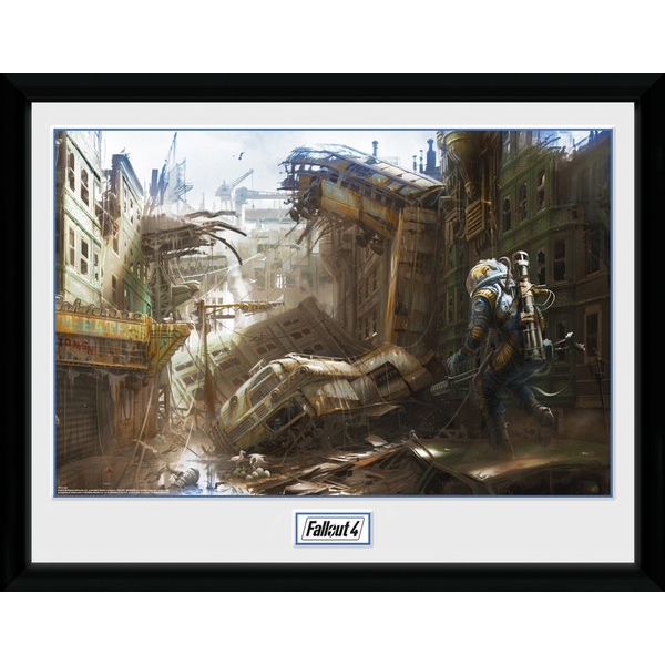 Fallout 4 Vertical Slice Collector Print