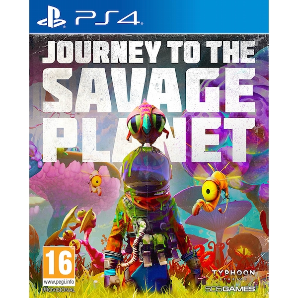 Journey to the Savage Planet PS4 Game (Pre-Order Bonus DLC)