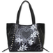 Pure of Heart Pu Leather Studded Tote Bag - Image 2