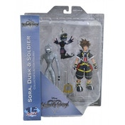 Kingdom Hearts Series 1 Action Figure Set 2 Sora Dusk & Heartless