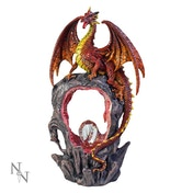 Magma's Gateway Dragon Figurine