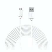 Jivo 3M Micro USB Charge Cable Wht