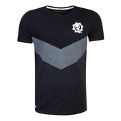 Gears Of War - Tonal Colour Block Men's Large T-Shirt - Black