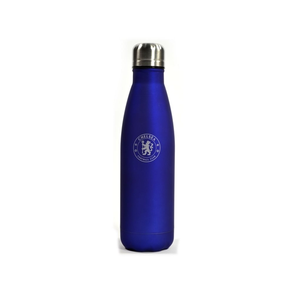Chelsea Six Hour Hot Cold Bottle Matt Blue 500ml
