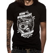 Set Your Goals - Mutiny Men's Small T-Shirt - Black