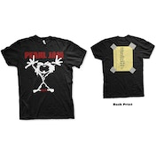 Pearl Jam - Stickman Men's Small T-Shirt - Black