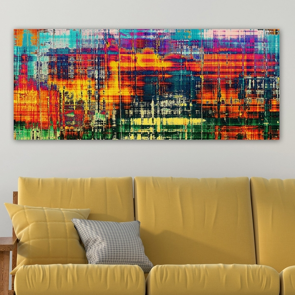 YTY2696790142_50120 Multicolor Decorative Canvas Painting