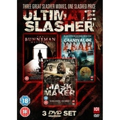 Ultimate Slasher Movie Triple Box Set DVD