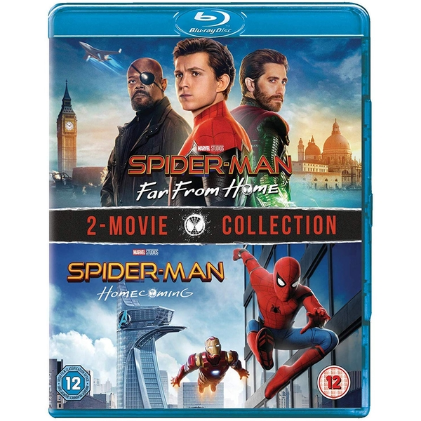 Spider-Man: Homecoming & Far From Home Blu-ray