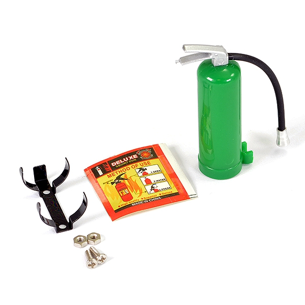 Fastrax Fire Extinguisher & Alloy Mount - Green